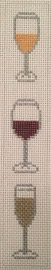 Canvas GLASSES CANVAS FOR NEOPRENE WINE BAGS  B2
