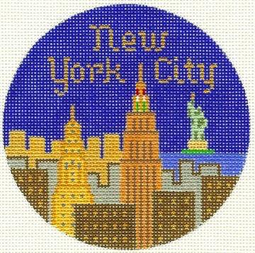 Canvas TRAVEL ROUND NYC  342