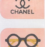 Canvas CHANEL EYE GLASS/PHONE CASE  EGC54