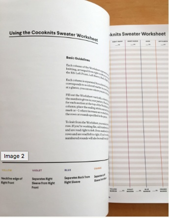Accessories COCOKNITS WORKSHEET JOURNAL