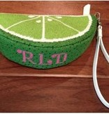 Canvas LIME PURSE  RD001