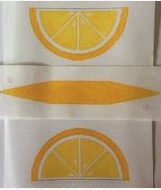 Canvas LEMON PURSE  RD002