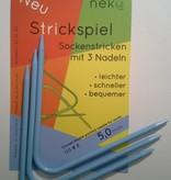 Needles NEKO CURVED DPN #9 hat length