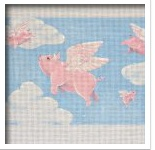 Canvas FLYING PIGS  FP01A