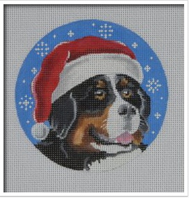 Canvas BERNESE SANTA  DG14