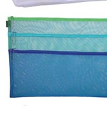 Accessories DOUBLE ZIPPER MESH  CASE<br /> 11.5X16