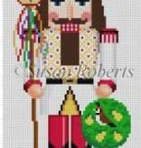 Canvas NUTCRACKER PARTRIDGE IN PEAR TREE  4261