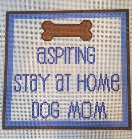 Canvas ASPIRING STAY AT HOME DOG MOM