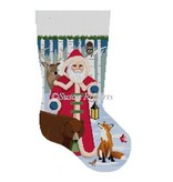 Canvas FOREST FRIENDS STOCKING  3225
