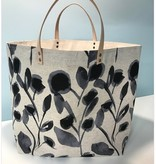 Accessories 65 SOUTH BAG - EBONY FLOWERS