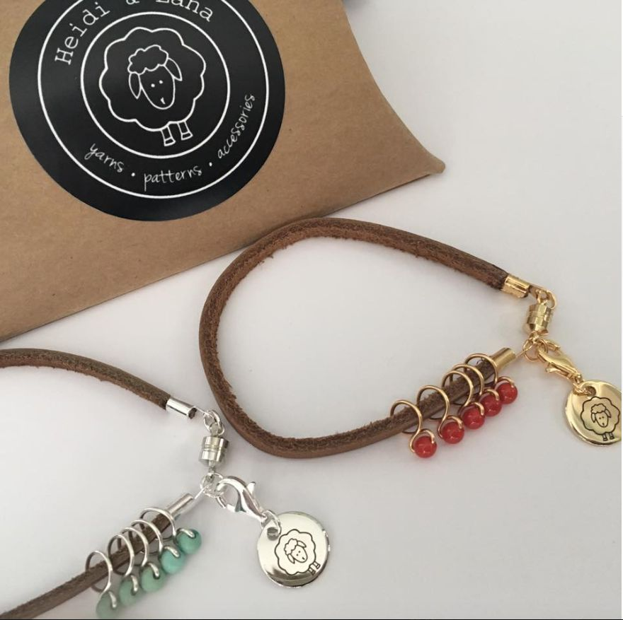 Accessories LEATHER CORD BRACELET RING MARKER SETS - HEIDI AND LANA
