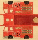 Canvas COOL WHEELS FIRE TRUCK  E2I