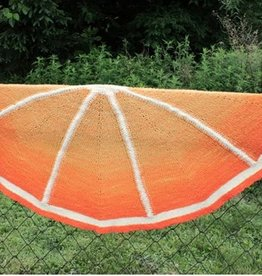 Yarn CITRUS DELIGHT SHAWL KIT - ORANGE