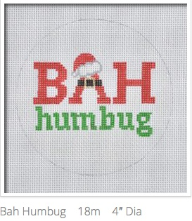 Canvas BAH HUMBUG  CR03