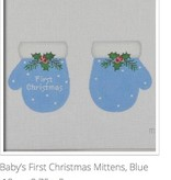 Canvas 1ST CHRISTMAS MITTENS  MT02
