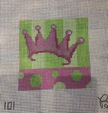 Canvas PINK CROWN 5X5  101LP