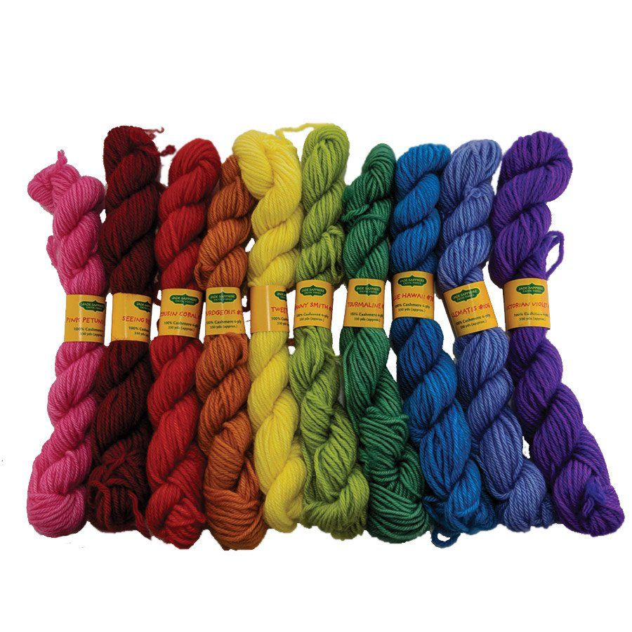 Yarn CASHMERE COLORING BOX