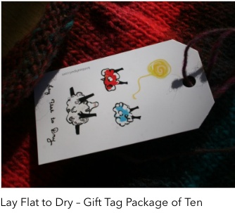 Accessories LAY FLAT TO DRY GIFT TAG PKG OF 10