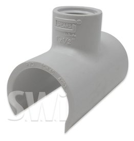 SPEARS / LASCO PVC SNAP ON SADDLE TEE SOC (463 SERIES)  SCH40