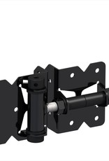 "NATIONWIDE INDUSTRIES 3"" X 3"" SS HINGE - SPRING LOADED (BLACK)"