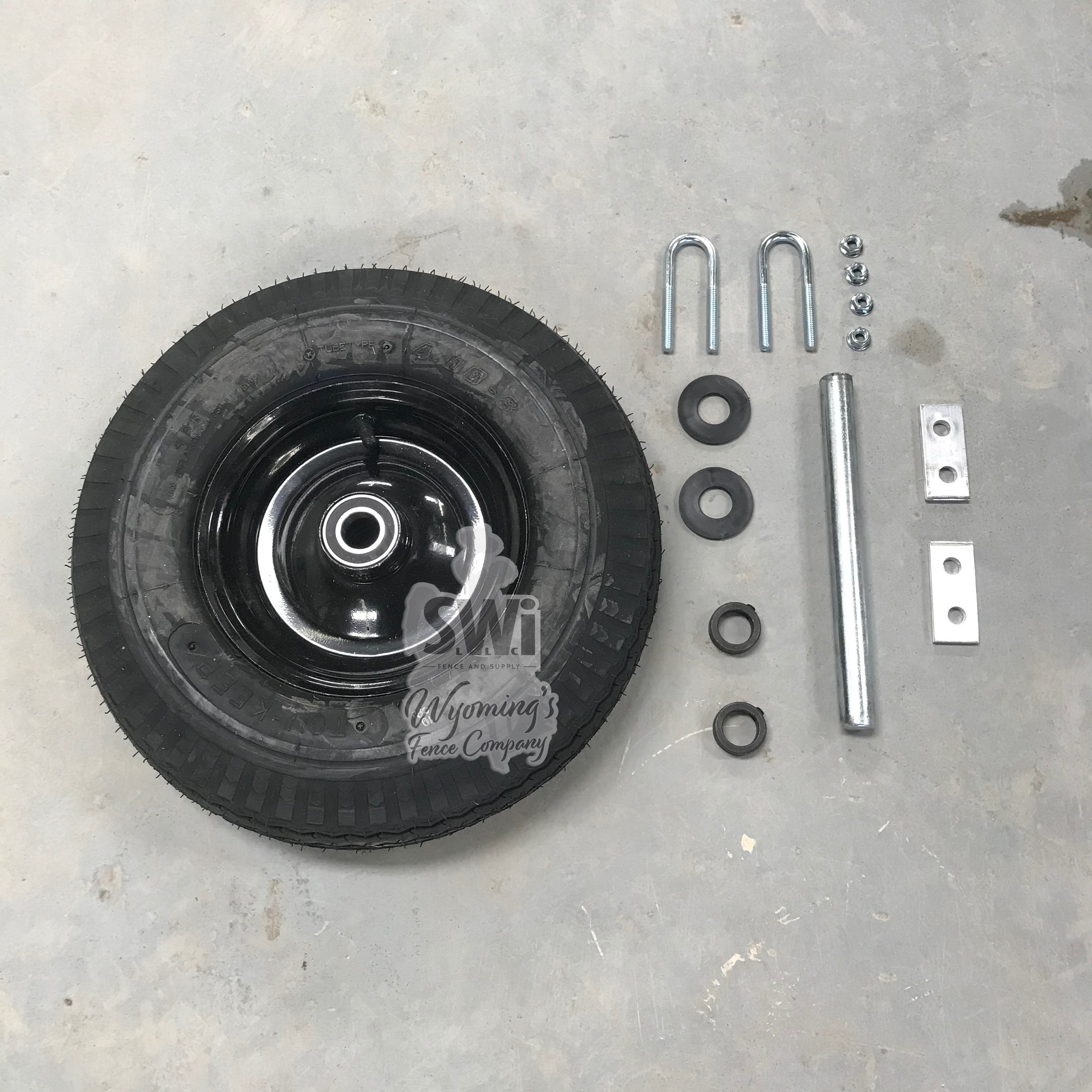 CARIOLA CARIOLA REPLACEMENT WHEEL (INCLUDES AXLE COLLARS & WASHERS)