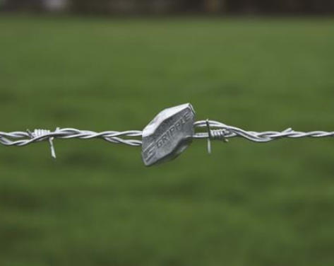 GRIPPLE BARB WIRE GRIPPLE FOR 2 X 12.5 GA WIRES