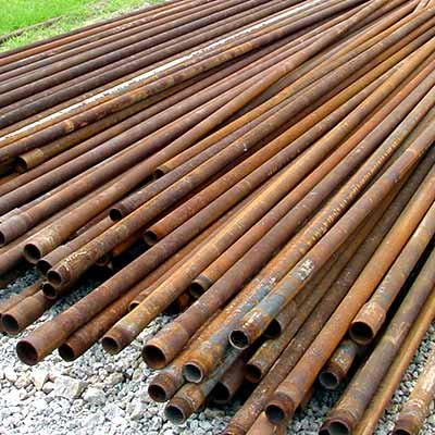 "SALVAGE OILFIELD PRODUCTION PIPE 2 3/8"" x 31'"