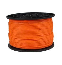 SWI 1/8 POLYESTER STRING LINE - NEON ORANGE