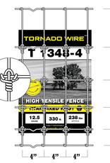 Tornado Wire 1348 TORUS SQUARE KNOT HI TENSILE FENCE