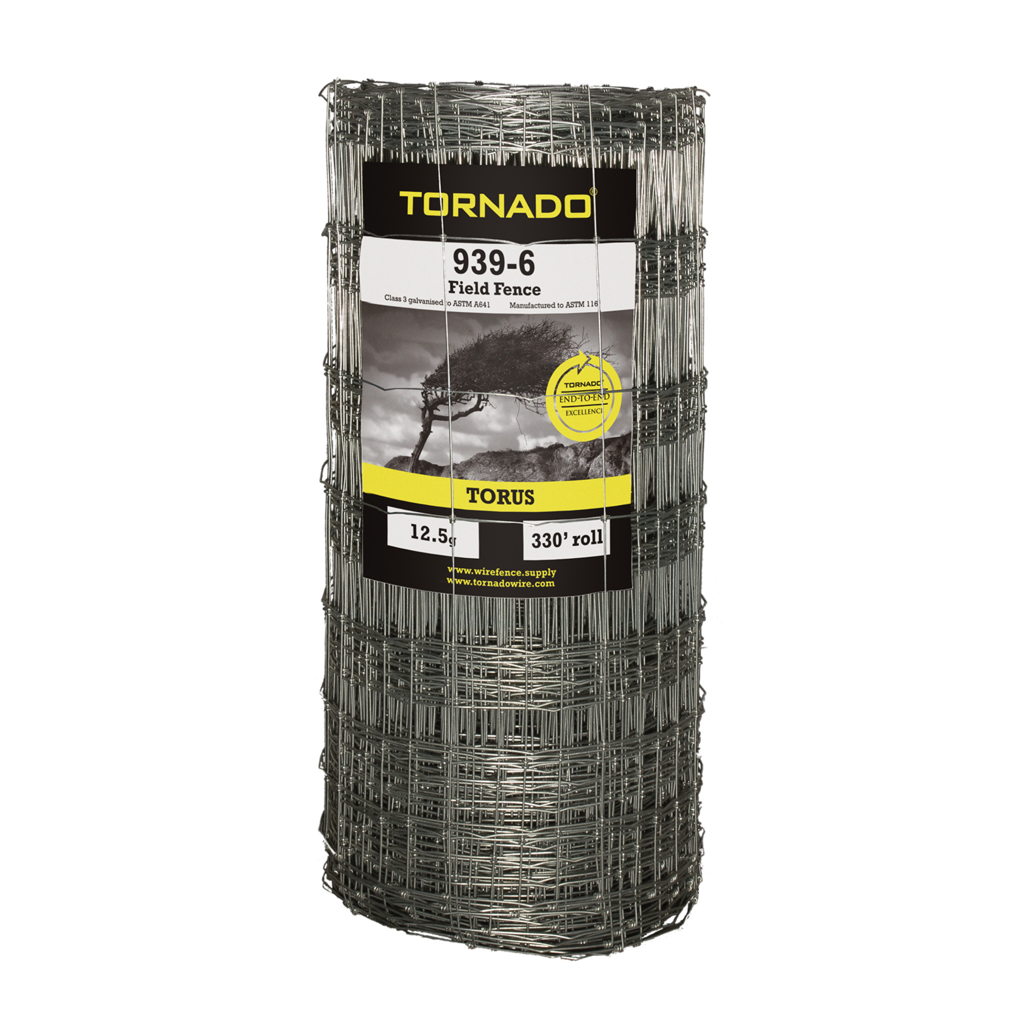 Tornado Wire 939 TORUS SQUARE KNOT HI TENSILE FENCE