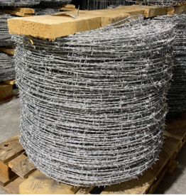 Tornado Wire TORNADO 14 GA HI TENSILE 4 PT BARBED WIRE 5280FT