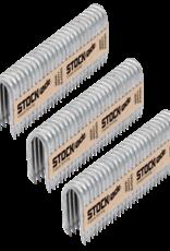 "Stockade 1 3/4"" STOCK-ADE ST400 BARBED STAPLES / BOX"