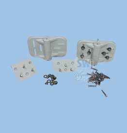 NATIONAL VINYL PRODUCTS CORNERSTONE HINGE - SPRING LOADED (WHITE)