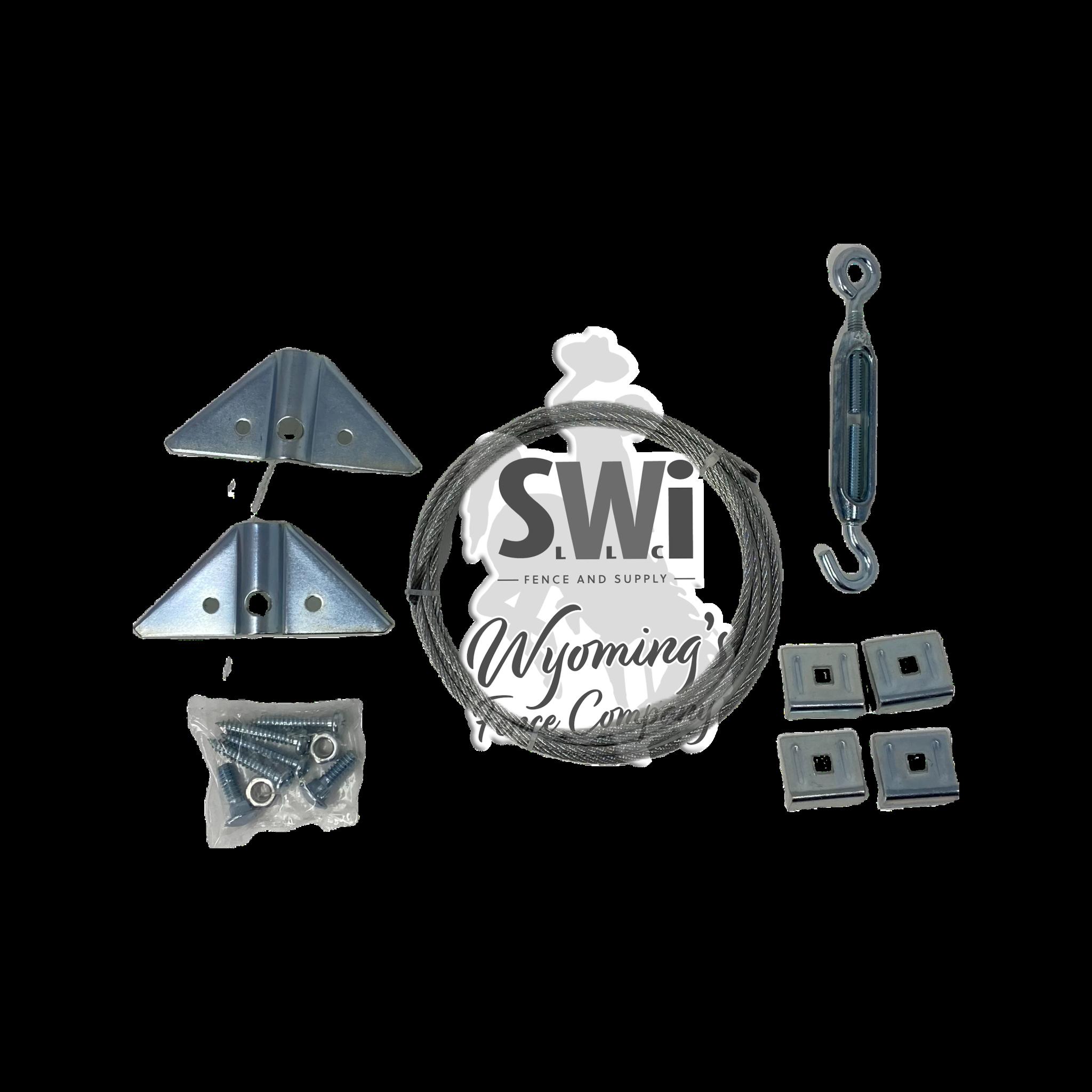 ANTI- SAG KIT - ZINC W/INSTRUCTIONS