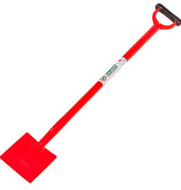 "STRAINRITE Spade Short Handle ""RED"" 1200mm total length"