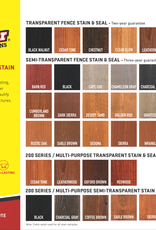 WOOD DEFENDER Semi-Transparent Fence Stain (1 gal)