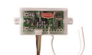 USAutomatic LCR Low Current Dual Channel Receiver 12 Vdc Solar Friendly Device (6 inch wire antenna)