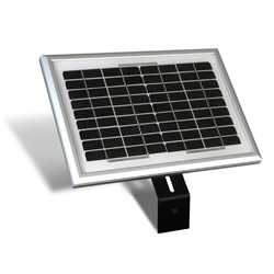 USAutomatic 10 watt Solar Panel Kit (with 15 feet cable, Bracket & Plug)