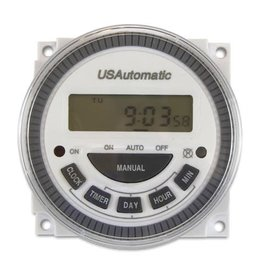 USAutomatic 7 Day Timer 12 Vdc Solar Friendly Device (12 Vdc Systems Only) Wire NOT Included