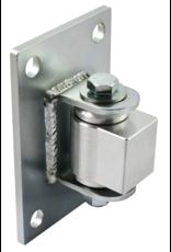 "D&D Technologies Steel/Aluminum Combo Half Bolt-on BadAss  for 4"" Fence Posts - Sold Each"