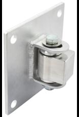 "D&D Technologies Aluminum Half Bolt-on BadAss for 6"" Fence Posts - Sold Each"