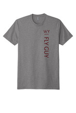 WY Fly Guy WFG Short Sleeve Logo Back