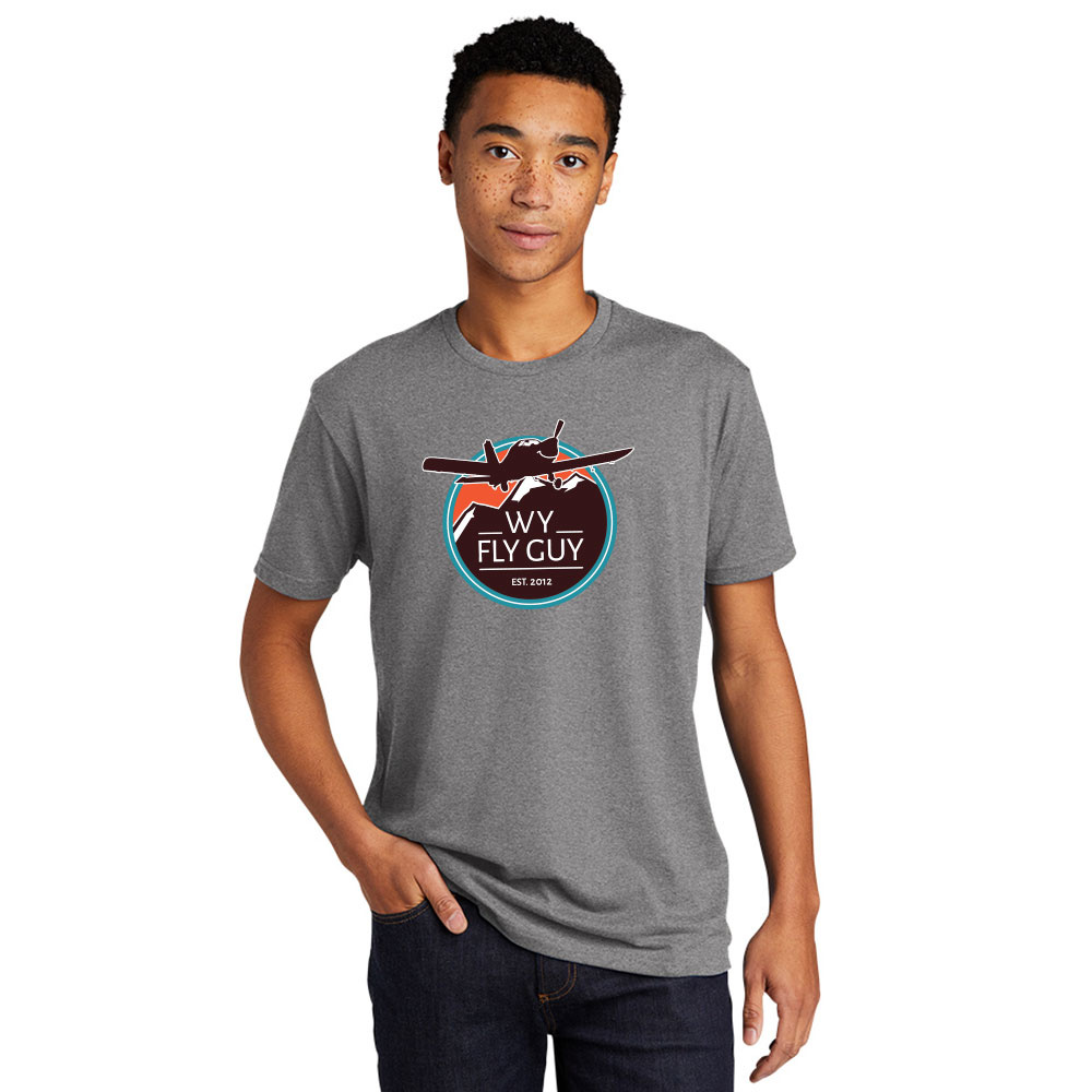 WY Fly Guy WFG Short Sleeve Logo Front