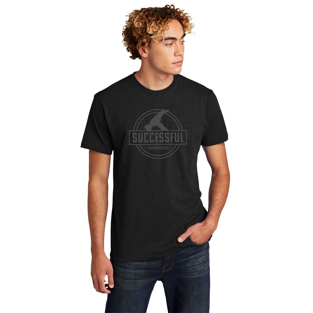 SUCCESSFUL CONTRCTOR Successful Contractor Round Logo Short Sleeve