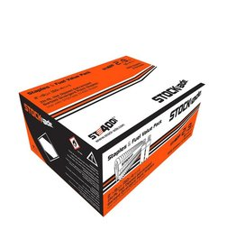 "Stockade 1 3/4"" STOCK-ADE ST400 BARBED STAPLES / BOX"