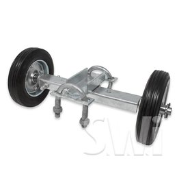 MASTER HALCO ROLLING GATE INDUSTRIAL DOUBLE WHEEL ASSEMBLY