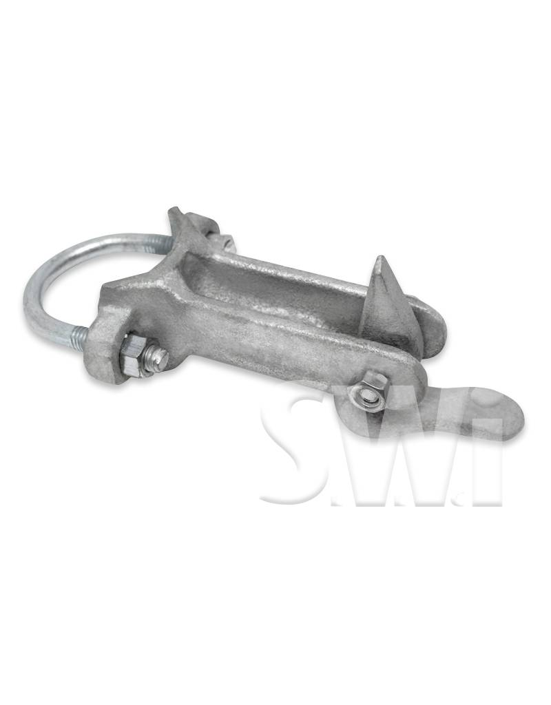 """MASTER HALCO 1 5/8"""" MALLEABLE IRON GATE KEEPER"""