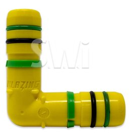 BLAZING PRODUCTS BLAZING CLAMPLESS INSERT ELBOW