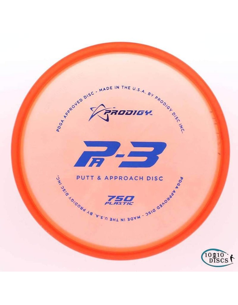 Prodigy Disc Golf Prodigy Pa3 750 Putt and Approach Disc