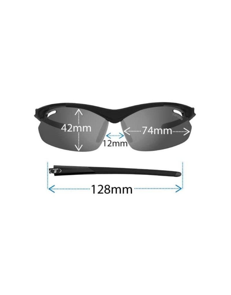 TIFOSI OPTICS Tyrant 2.0, Matte Black Interchangeable Sunglasses